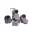 Vicenza 3 In 1 Luxury Gris Chasis Cromo