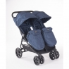 Stroller For Twins Happy 2 - Blue